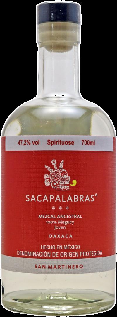 Sacapalabras Mezcal Ancestral - San Martinero