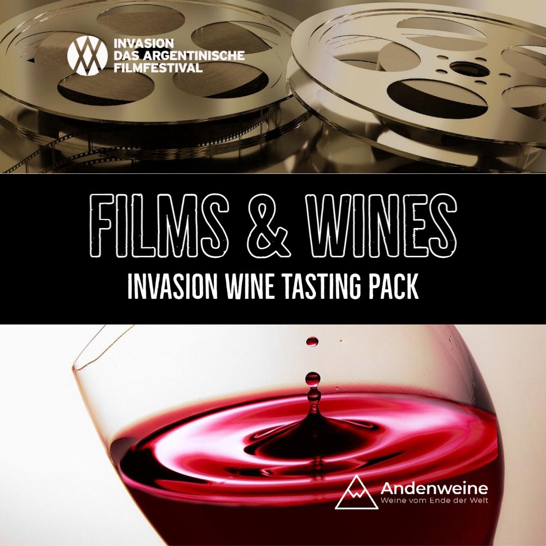 INVASION Weinpaket: Filme und gute Weine.