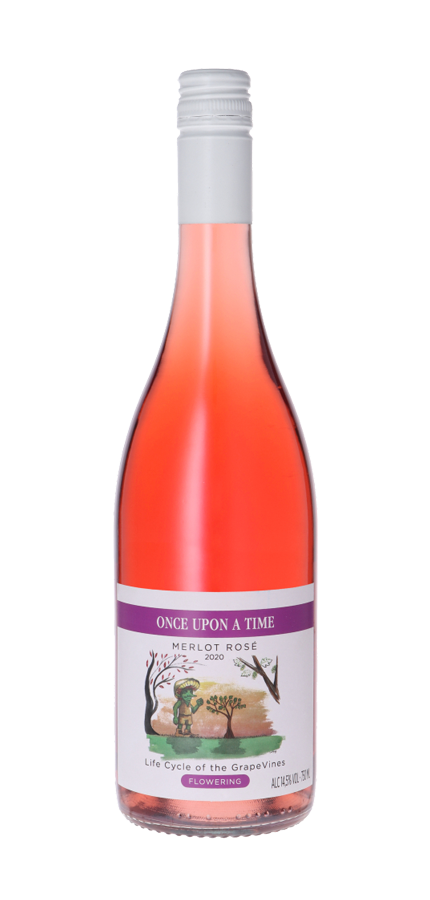 Once Upon A Time: Merlot Rosé 2020