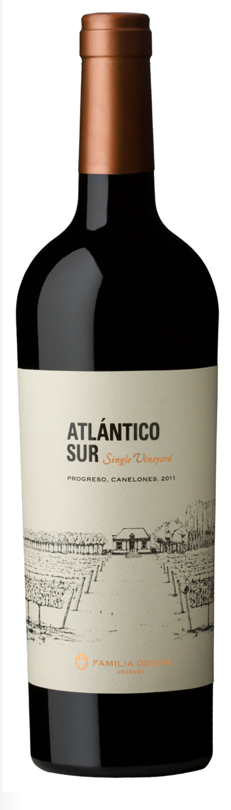 Atlantico Sur Single Vineyard Progreso Tannat 2015