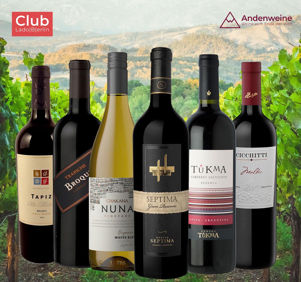 Exklusives Weinpaket für Mitglieder des Club Lado Berlin